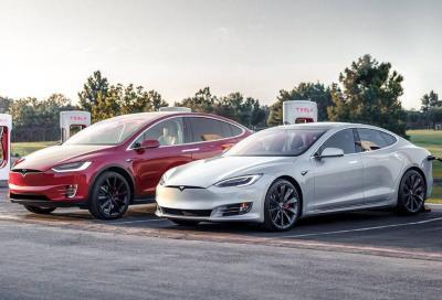 Tesla Model S e X: possibile magagna alle sospensioni