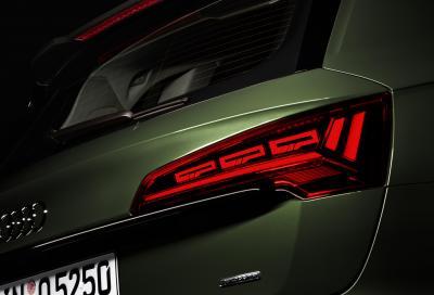 """Audi, nuovi fari OLED: """"con questa tecnologia comunicheremo in modo innovativo"""""""