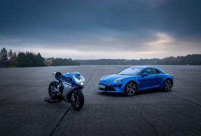Alpine e MV Agusta insieme per grosse novità su 2 e 4 ruote