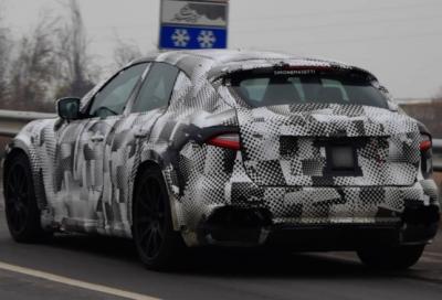 Ferrari Purosangue: avvistata durante i test su strada