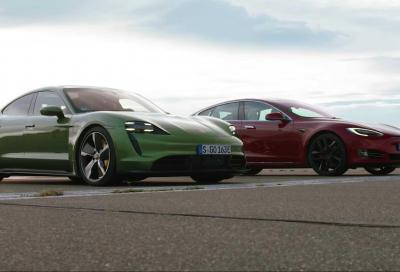 Porsche Taycan batte Tesla Model S? Il segreto è il cambio a 2 rapporti della tedesca