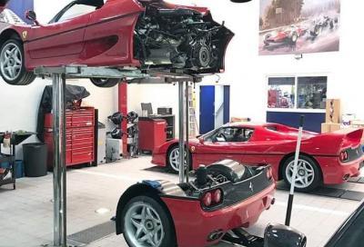 Rifare la frizione a una Ferrari F50 non è così semplice