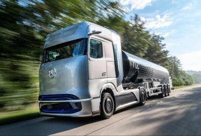 Mercedes Truck a gonfie vele sull'idrogeno
