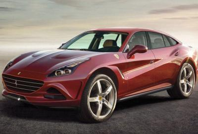 Ferrari: presto un modello elettrico a ruote alte?