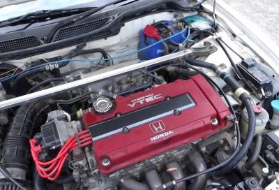 I pistoni dell'Integra Type R più veloci di quelli di una F1 degli anni '90