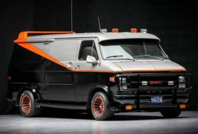 Il furgone dell'A-Team va all'asta