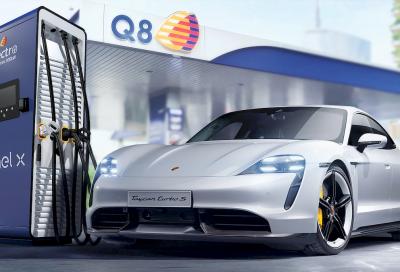 La ricarica ultrafast dopo le autostrade arriva nei benzinai