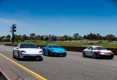 Taycan vs 911 GT3 RS vs GT3 Cup: sfida in casa Porsche
