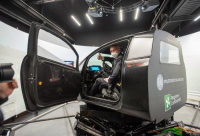 Al Politecnico di Milano arriva il simulatore di guida dinamico DiM400