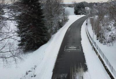 Sicurezza: dalla Francia l'asfalto che non si ghiaccia