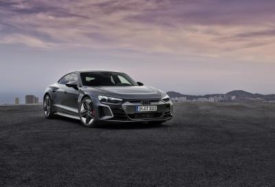 Audi e-tron GT e Audi RS e-tron GT: buona la prima