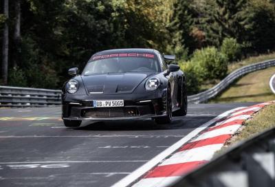 Porsche 911 GT3 2022: al Nurburgring gira più veloce di una 918 Spyder