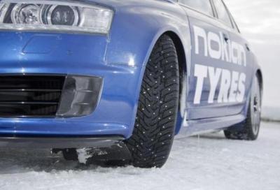 Nokian: il futuro sono gli pneumatici con chiodi retrattili