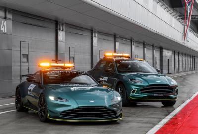 Aston Martin è la nuova safety car di Formula 1