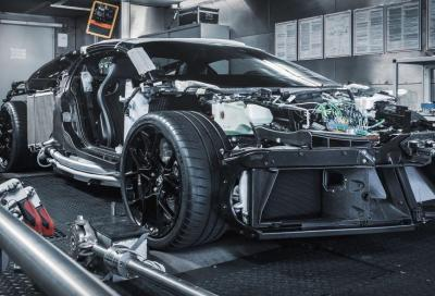 Bugatti: partita la catena di montaggio della Centodieci