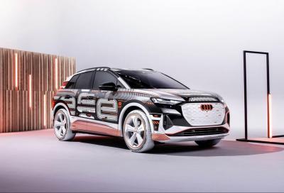 Audi Q4 e-tron: l'elettrica su base Meb esce allo scoperto