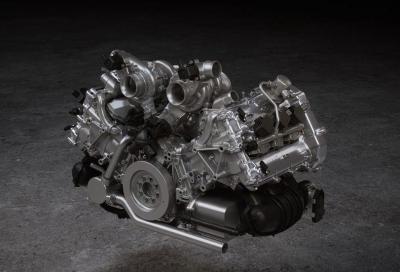 Il V6 della McLaren Artura è diverso da qualsiasi altro motore