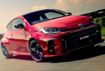 Toyota GR Yaris e quel poderoso 3 cilindri turbocompresso