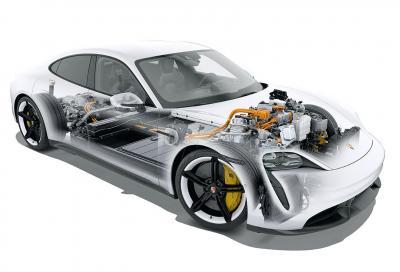 Ecco come funzionano gli innovativi motori elettrici della Porsche Taycan