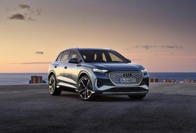 """Audi Q4 e-tron: tanto """"green"""" quanto tecnologica"""