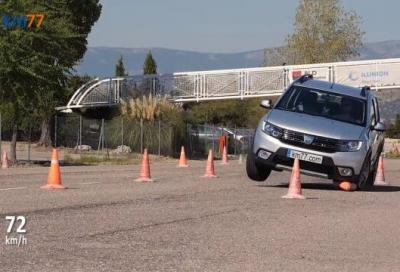 Dacia Spring: al Test dell'Alce fa faville