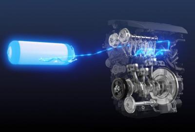 Toyota: benvenuto 3 cilindri a idrogeno