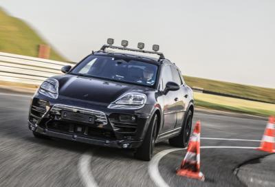Porsche Macan elettrica: iniziati i test su strada