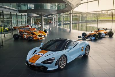 McLaren e Gulf di nuovo insieme con una iconica livrea per la 720S