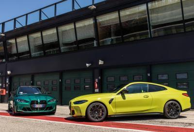 NUOVE BMW M3 ed M4,  arriva anche la trazione integrale M xDrive