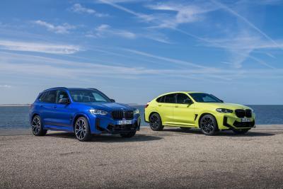 BMW rinnova le X3 ed X4 M Competition