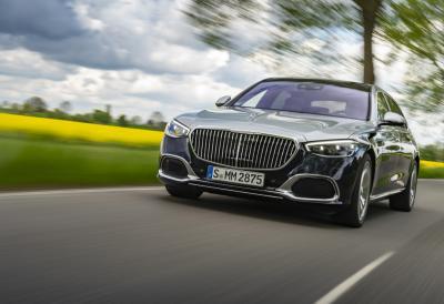 Nuova Mercedes-Maybach Classe S, ancora pù lussuosa