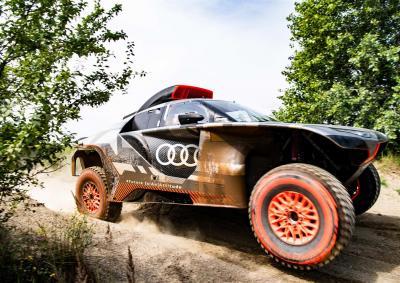 Audi RS Q e-tron, il nuovo prototipo Dakar 2022