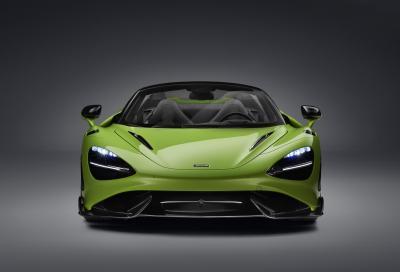 McLaren, questa è la nuova 765LT Spider