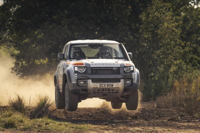 Nuovo Land Rover Defender, pronto per il RallySport