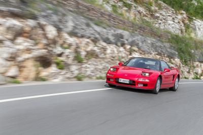 Honda NSX,  8.000 giri
