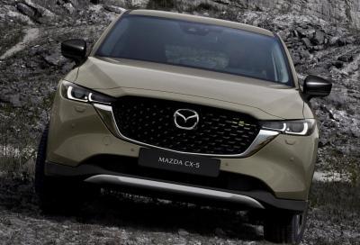 Nuova Mazda CX-5 2022, parte da 33.800 euro