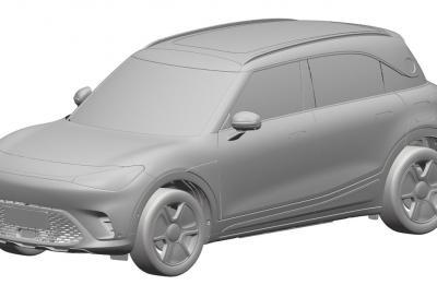 Nuovo SUV SMART, il design definitivo svelato dalle immagini dei brevetti