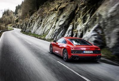 Nuova Audi R8 V10 Performance RWD