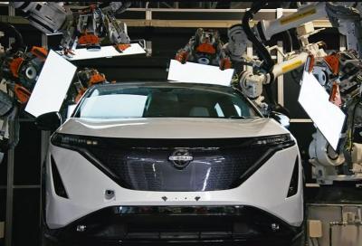 Nissan, così viene assemblato  il nuovo crossover elettrico ARIYA
