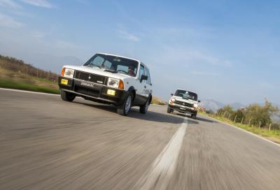 Abarth A112 vs Mini De Tomaso, Rivali in amore