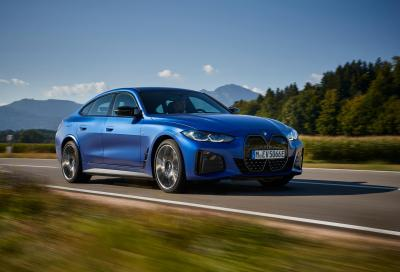 Nuova BMW i4, sfida elettrizzante