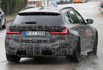 Nuova BMW M3 Touring, continuano i test