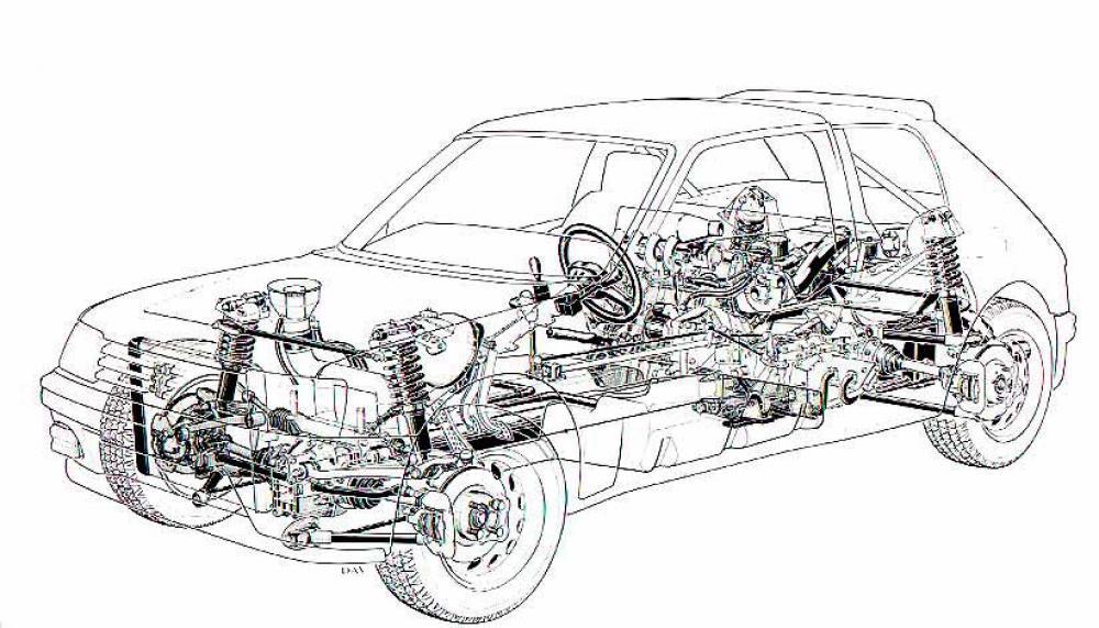 peugeot 205 turbo 16 epoca